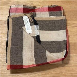 Burberry Silk & Cashmere Scarf